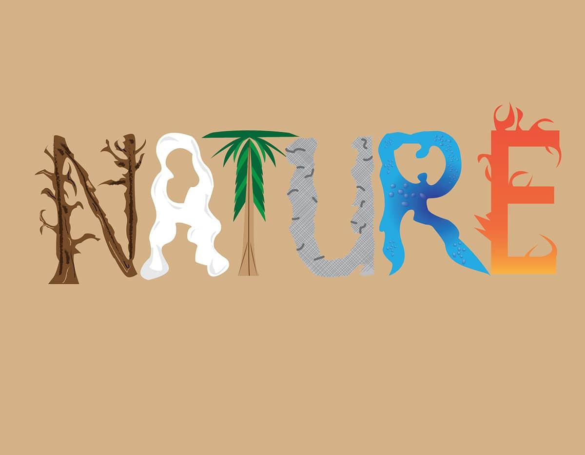 معنی در واژه ی طبیعت (Nature) ، لغت آهنگ/ترانه Tune)) و آواز پرندگان